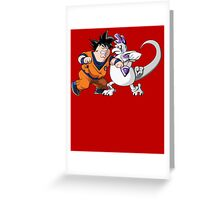 Family Guy Z - Goketer VS Cheeza - 02 Greeting Card