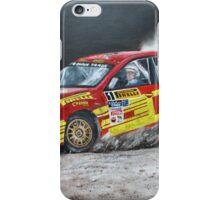 Keith Cronin, Subaru TEG Sports Rally iPhone Case/Skin