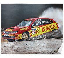 Keith Cronin, Subaru TEG Sports Rally Poster