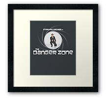 Double-O Danger Zone! Framed Print