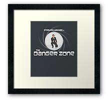 Double-O Danger Zone! Framed Print