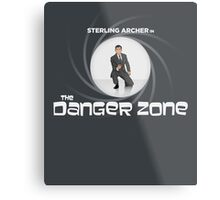 Double-O Danger Zone! Metal Print
