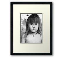 Frances Bean Framed Print
