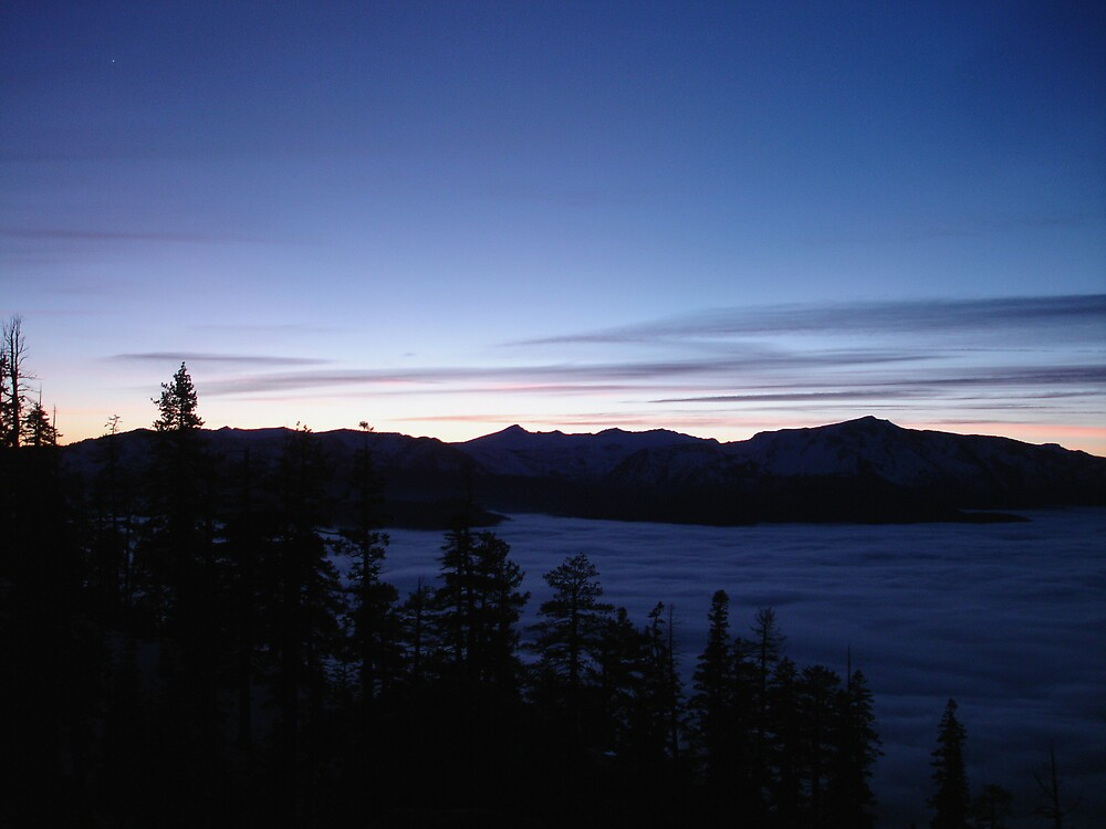 lake of clouds by Hawk