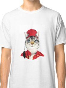 Original Greek Cat Art Print Classic T-Shirt