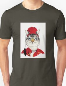 Original Greek Cat Art Print T-Shirt