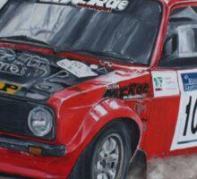 Colin McRae Mk 2 Escort Rally  Sticker