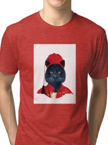 Charming Greek Cat Tri-blend T-Shirt