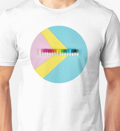 Happy little rainbow pills Unisex T-Shirt