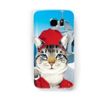 Greek Cat Samsung Galaxy Case/Skin
