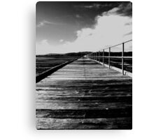 Port Germein Jetty Canvas Print
