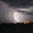 Lightning Over Larrakeyah by Brett Habener