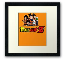 Family Guy Z Framed Print