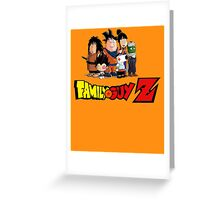 Family Guy Z Greeting Card