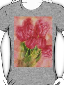 Tulips on Bokeh Background T-Shirt
