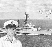 HMAS Perth Commissioning Crew by Darren McAliece