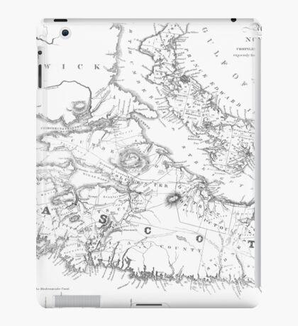Nova Scotia 1829 iPad Case/Skin