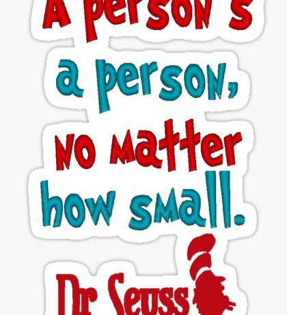 Dr. Seuss Day Sticker