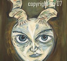 """""""Horned Beast"""" by Jaz G"""