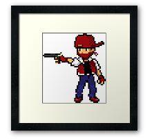 8Bit Gangsta Framed Print