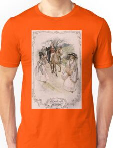 Charles Edmund Brock - Jane Austen She Turned With Surprise Unisex T-Shirt