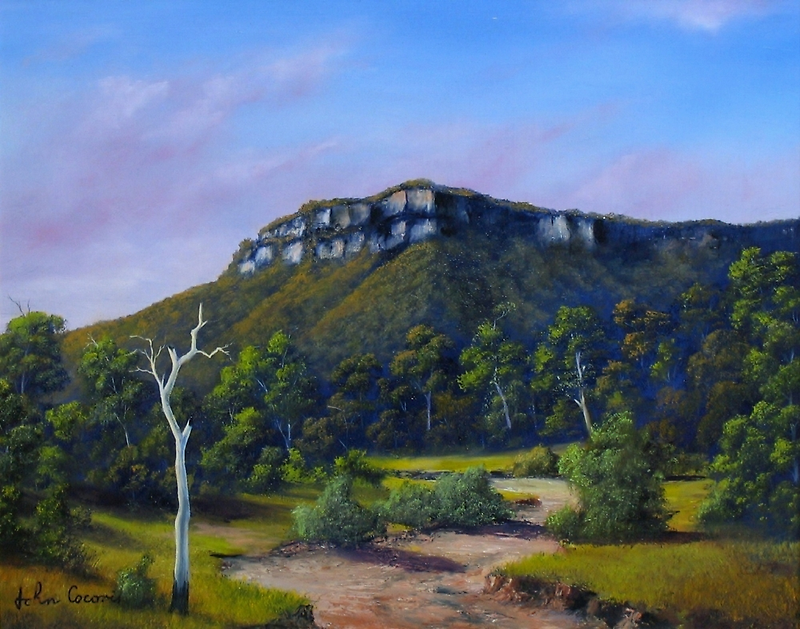 Escarpment Road by John Cocoris