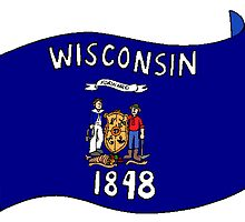 Wisconsin State Flag by kwg2200