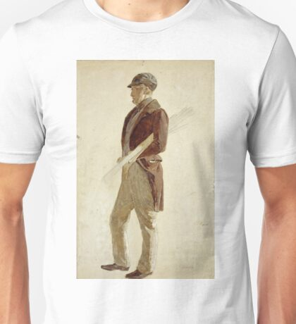 Charles Lees - Sandy Pirrie, Active 1847. Golfer Unisex T-Shirt