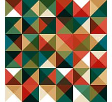 Retro Pattern Design Photographic Print