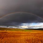Rainbow over Langdon Beck by Paul Bettison