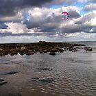 Pink kite by nattynoogie