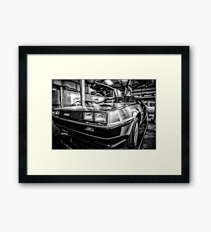 back to the garage  Framed Print