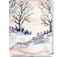 The joy of snow iPad Case/Skin