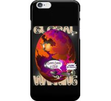Climate Change Is Crap T-shirt Design iPhone Case/Skin