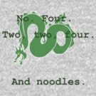 And noodles. by duckminister