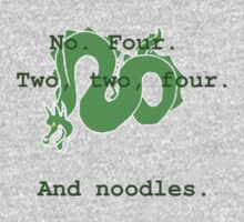 And noodles. T-Shirt