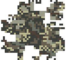 Pixel Army Photographic Print