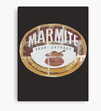 Marmite Vintage Canvas Print
