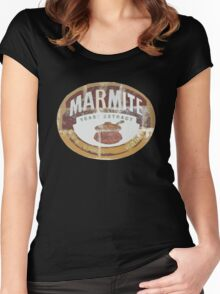 Marmite Vintage Women's Fitted Scoop T-Shirt