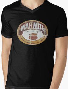 Marmite Vintage Mens V-Neck T-Shirt