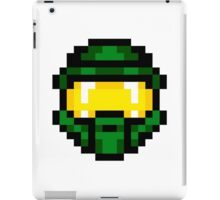 8-Bit Master Chief Green iPad Case/Skin