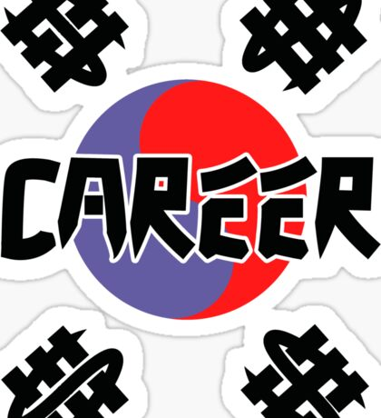 CAREER Sticker