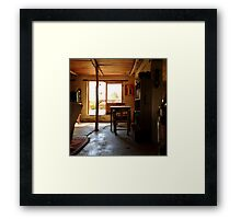 The Brewery at Nieu Bethesda Framed Print