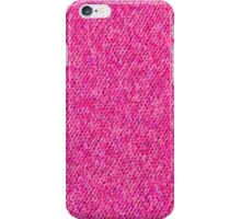 Pink Wool iPhone Case/Skin
