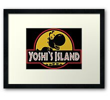 Welcome to Yoshi's Island! Framed Print