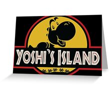 Welcome to Yoshi's Island! Greeting Card
