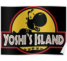 Welcome to Yoshi's Island! Poster