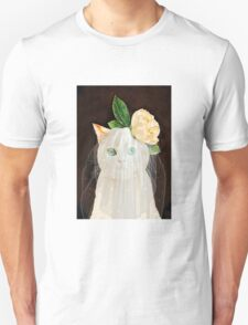 The Bride Cat Art Unisex T-Shirt