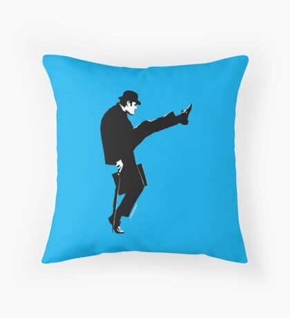 John Cleese Ministry of Silly Walks Throw Pillow