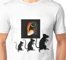 Charming Cat Watching! Unisex T-Shirt